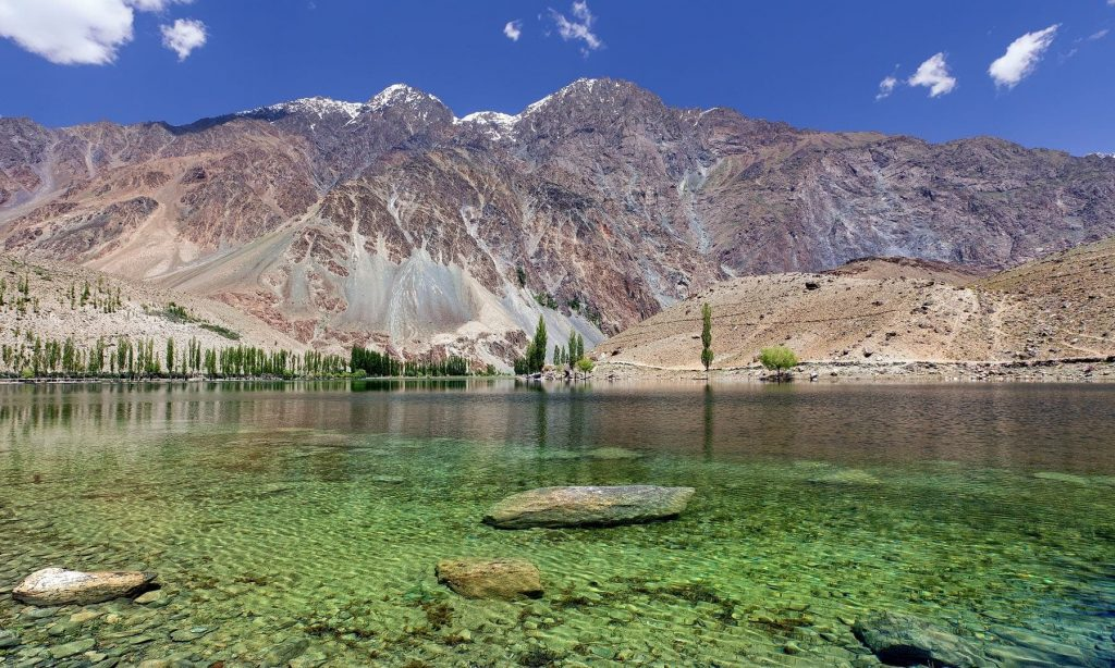 Khalti lake ghizer valley